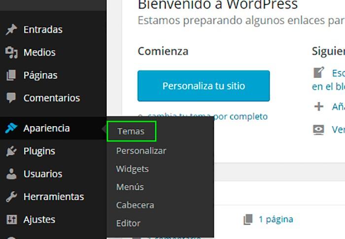 Imagen 5 en WordPress Tutorial: Instalar themes