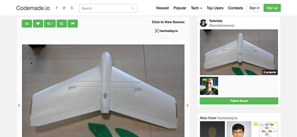 Imagen 0 en Codemade.io, la red social más visual para desarolladores