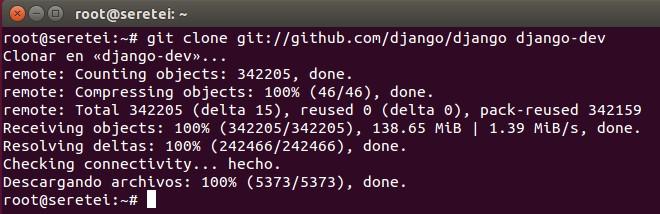 Imagen 12 en Cómo instalar Django 1.9 en Ubuntu 15.10