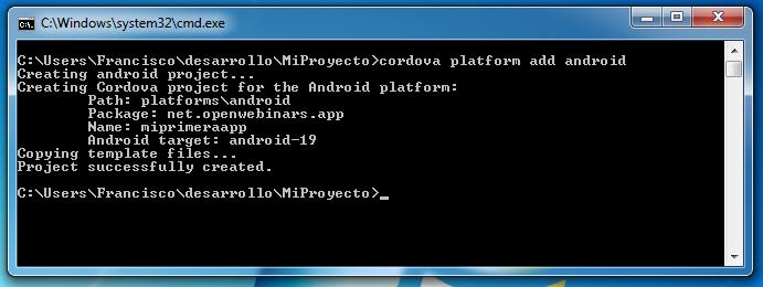 Imagen 23 en Instalación de Phonegap en Windows