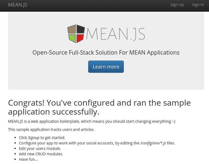 Imagen 1 en ¿Cómo instalar una instancia de MEAN.JS en un servidor Ubuntu 14.04?
