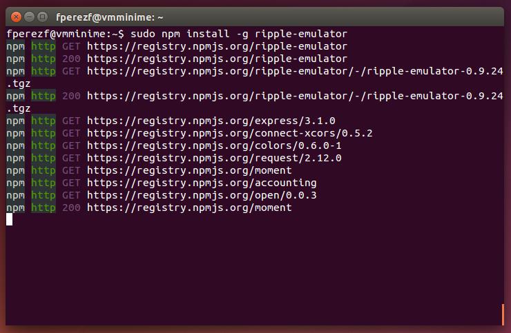 Imagen 20 en Instalación de Phonegap en Linux