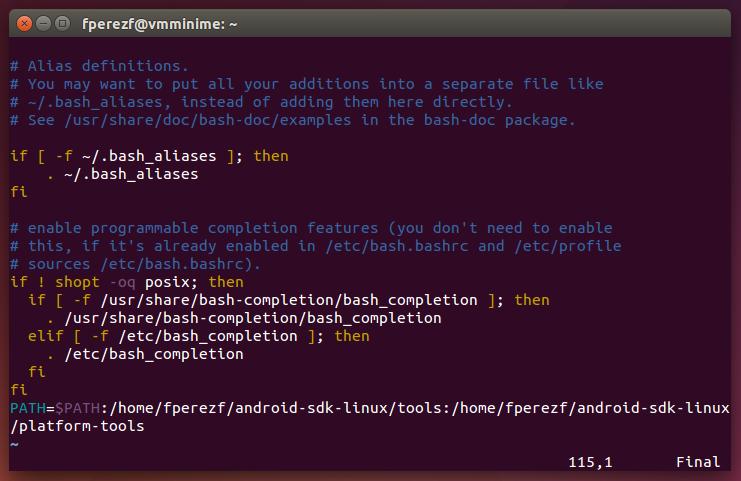 Imagen 12 en Instalación de Phonegap en Linux