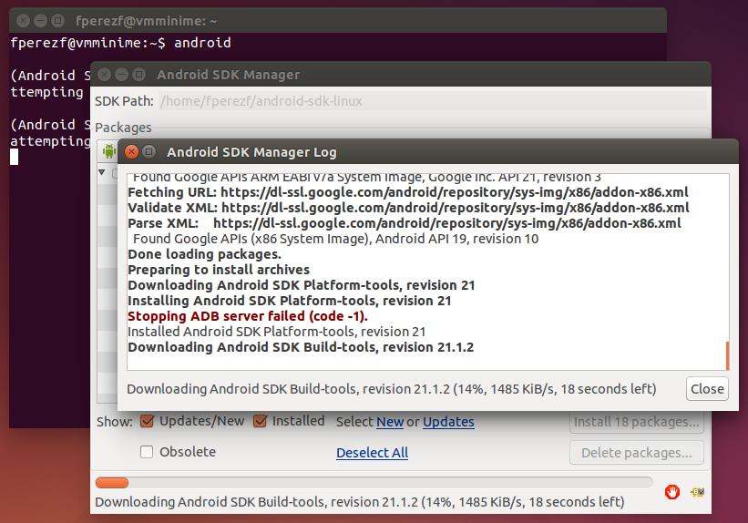 Imagen 15 en Instalación de Phonegap en Linux