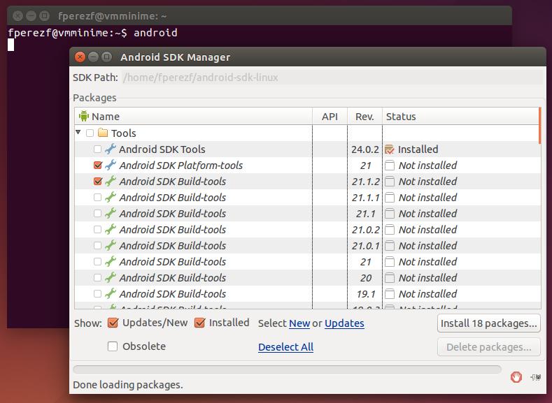 Imagen 13 en Instalación de Phonegap en Linux