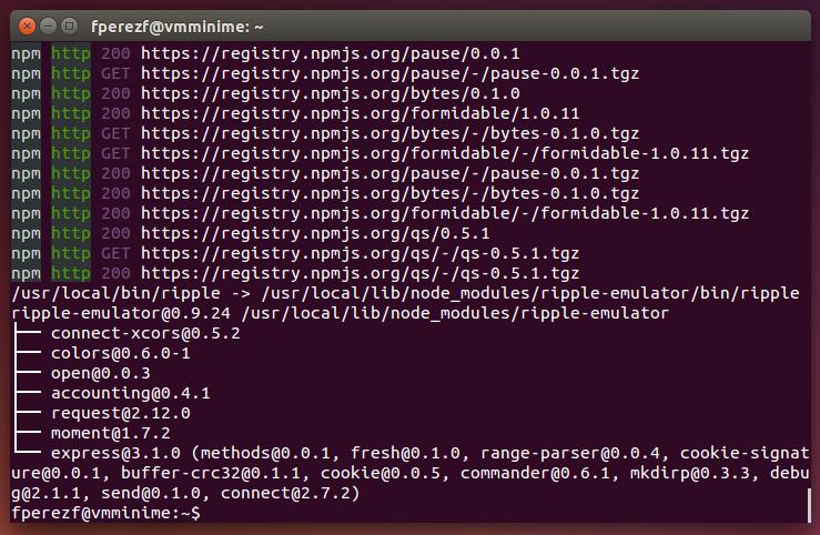 Imagen 21 en Instalación de Phonegap en Linux
