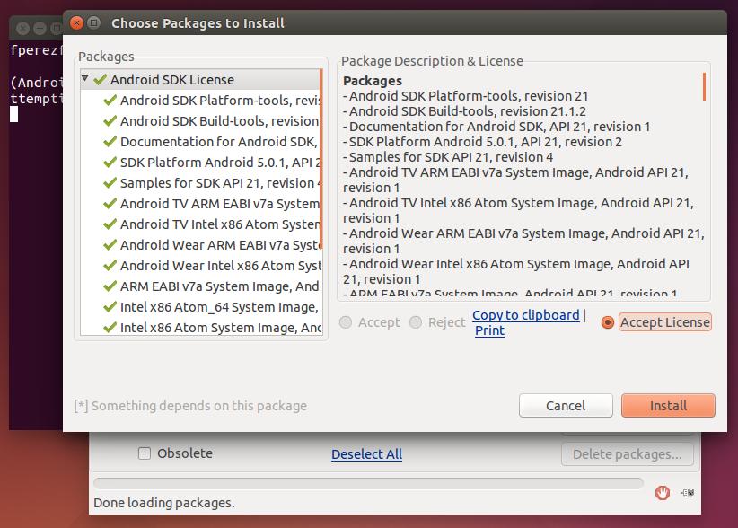 Imagen 14 en Instalación de Phonegap en Linux