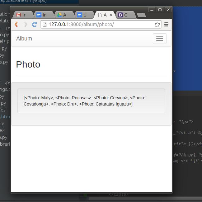 Imagen 2 en Tutorial de Django: Cómo usar Git y Bootstrap con Django.