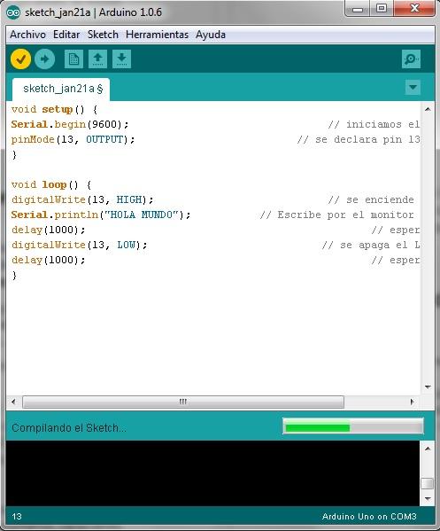 Imagen 3 en Tutorial Arduino: Ejemplo Semáforo