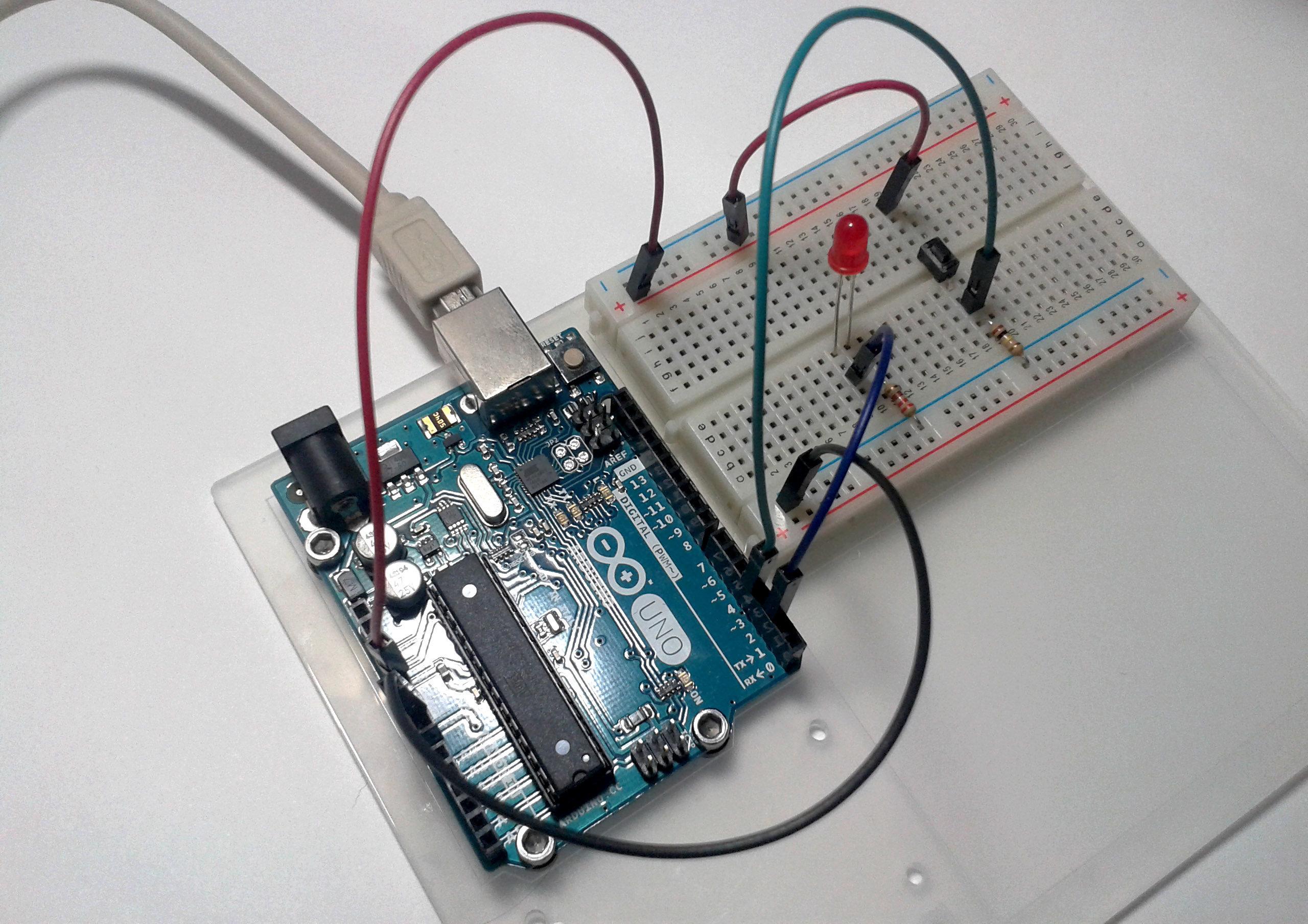 Imagen 1 en Tutorial Arduino: Entradas (2): Botones