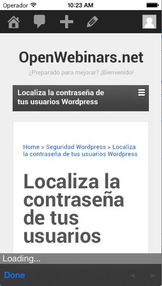 Imagen 3 en Desarrollo de App PhoneGap con Backend WordPress