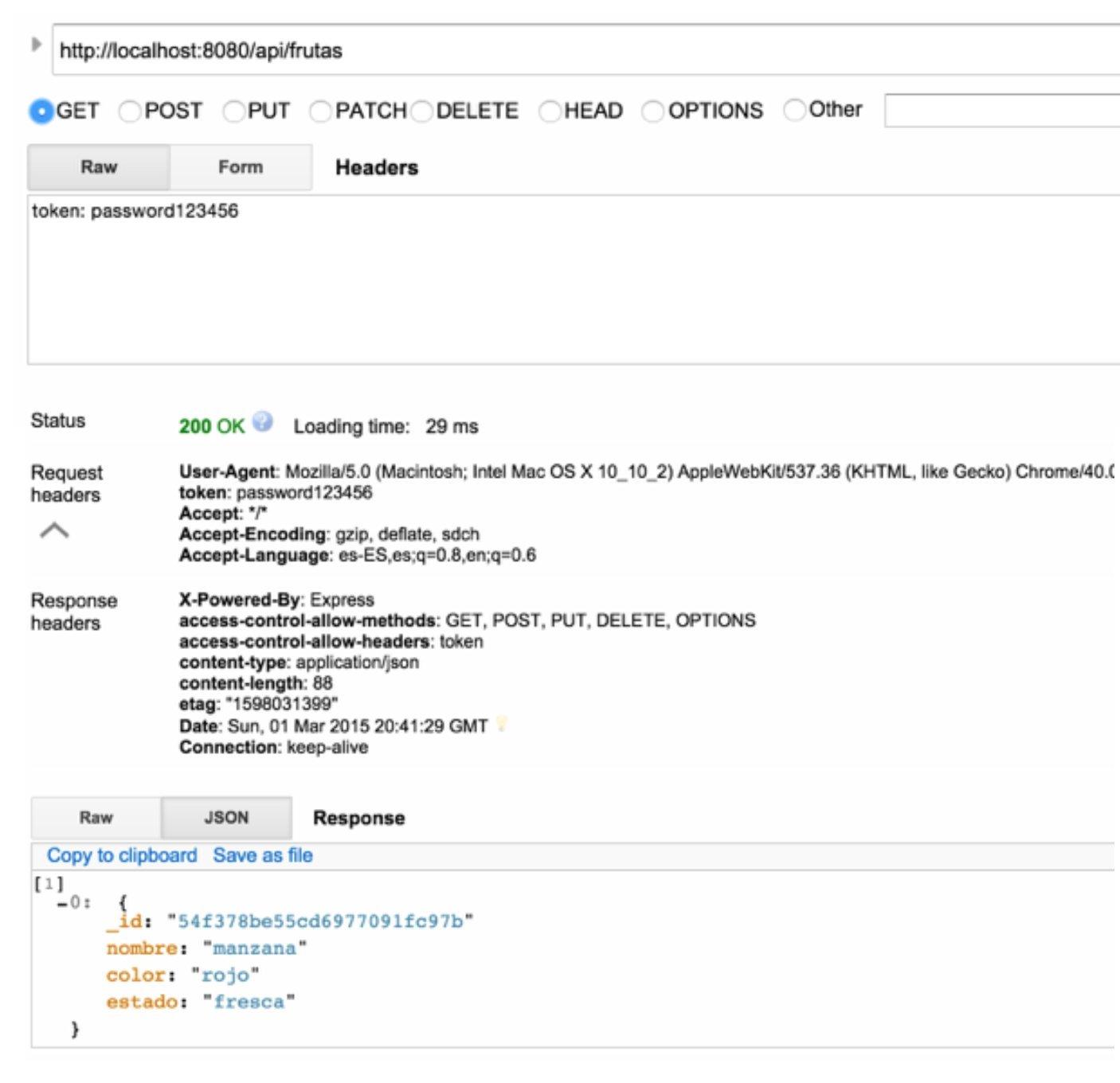 Imagen 2 en Crea un Restful API con NodeJS y MongoDB en 10 minutos