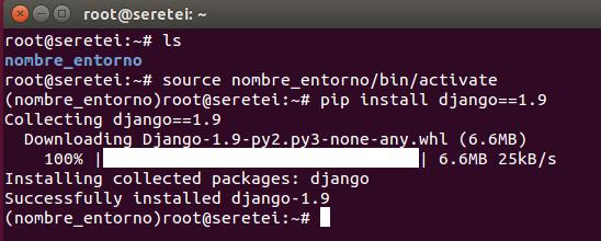 Imagen 10 en Cómo instalar Django 1.9 en Ubuntu 15.10