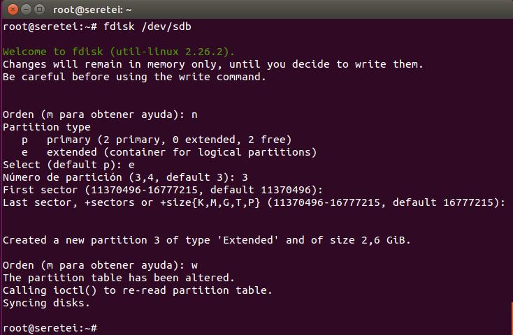 Imagen 5 en 9 comandos básicos Fdisk para gestionar el disco duro