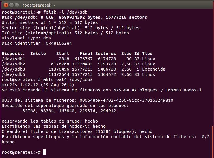 Imagen 6 en 9 comandos básicos Fdisk para gestionar el disco duro