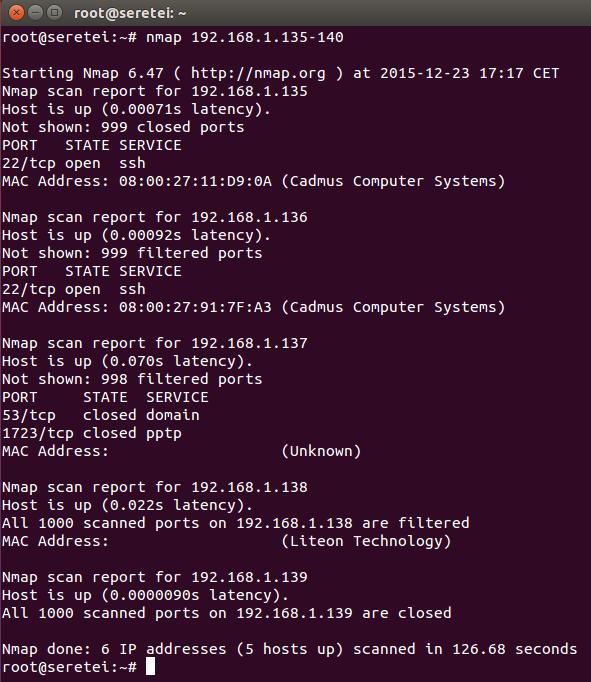 Imagen 8 en Nmap, uso básico para rastreo de puertos