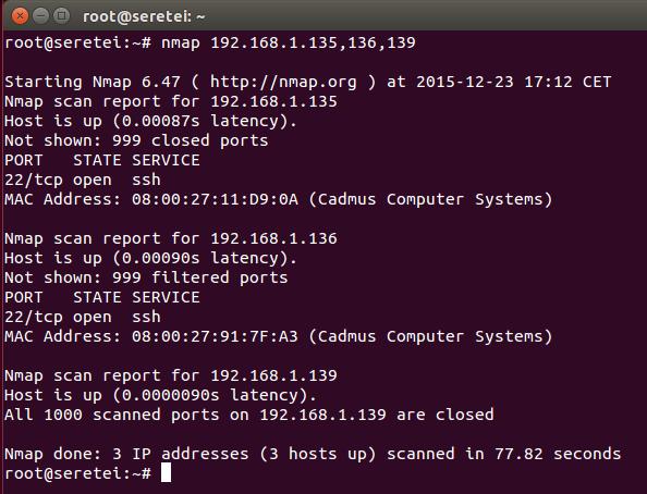Imagen 6 en Nmap, uso básico para rastreo de puertos