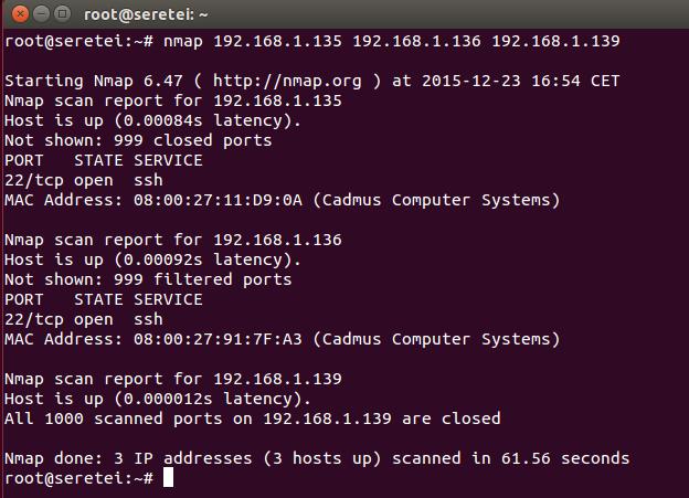 Imagen 4 en Nmap, uso básico para rastreo de puertos