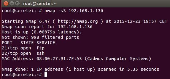 Imagen 26 en Nmap, uso básico para rastreo de puertos