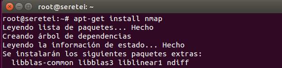 Imagen 1 en Nmap, uso básico para rastreo de puertos
