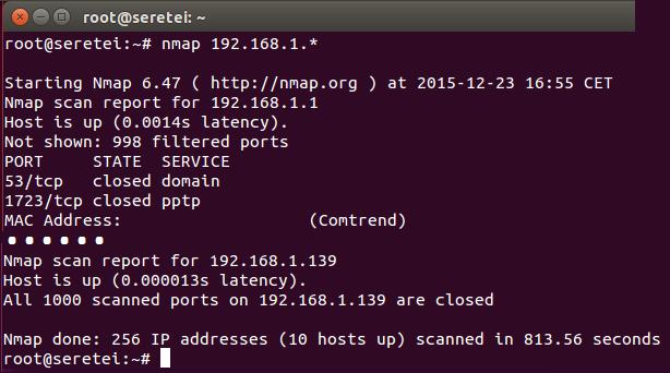 Imagen 5 en Nmap, uso básico para rastreo de puertos