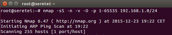 Imagen 30 en Nmap, uso básico para rastreo de puertos
