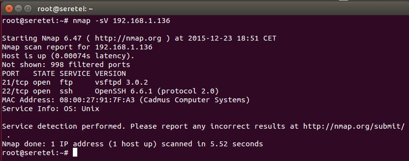 Imagen 22 en Nmap, uso básico para rastreo de puertos