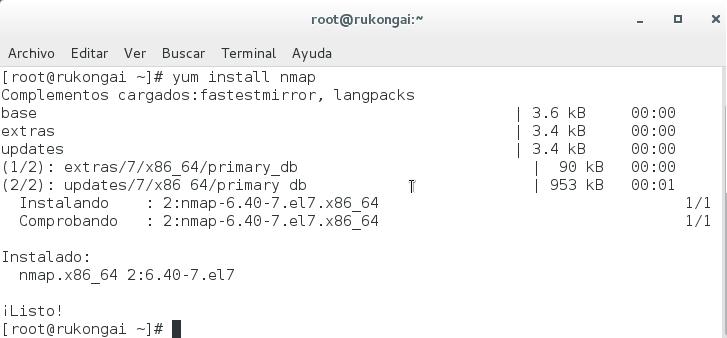 Imagen 0 en Nmap, uso básico para rastreo de puertos