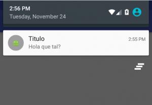 Imagen 2 en Cómo hacer notificaciones push en Android fácil