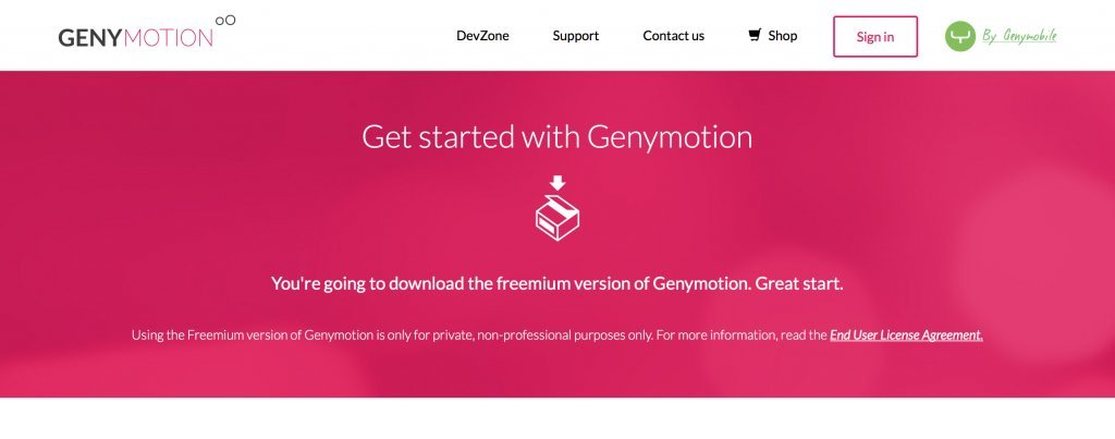 Imagen 1 en Instala y configura Genymotion, el emulador de Android