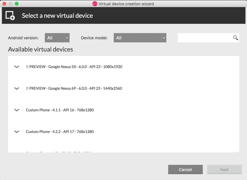 Imagen 10 en Instala y configura Genymotion, el emulador de Android