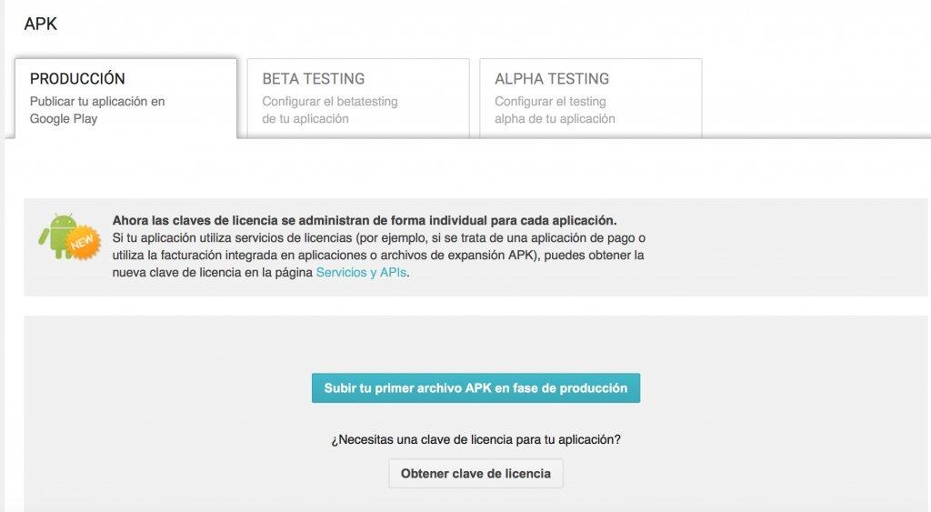 Imagen 1 en Cómo publicar app Android en Play Store