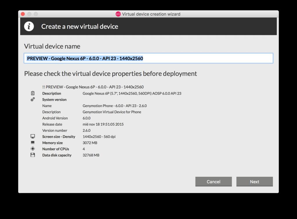 Imagen 11 en Instala y configura Genymotion, el emulador de Android