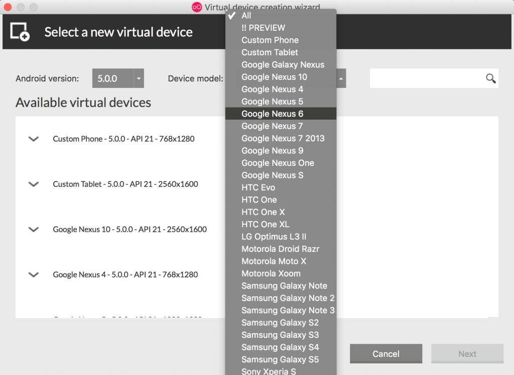 Imagen 2 en Instala y configura Genymotion, el emulador de Android