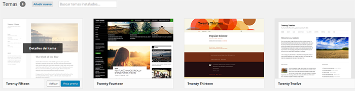 Imagen 10 en WordPress Tutorial: Instalar themes