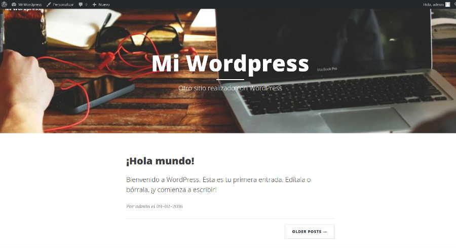 Imagen 5 en Cómo crear tu primer tema WordPress en menos de 15 minutos