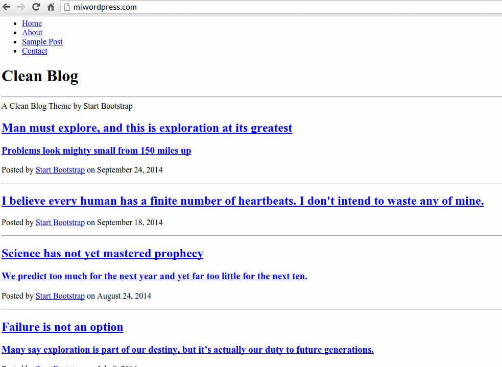Imagen 4 en Cómo crear tu primer tema WordPress en menos de 15 minutos