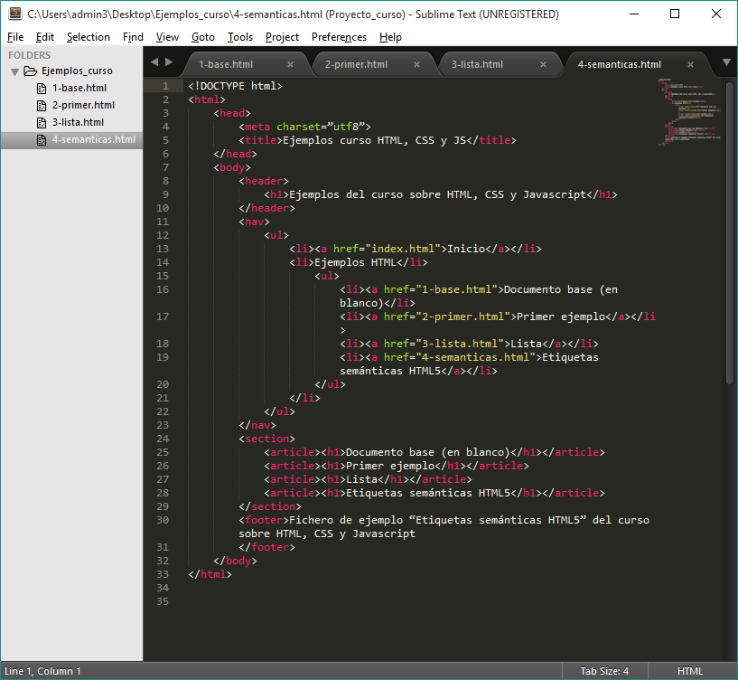 Imagen 0 en Instalar Sublime Text 3 y Package Controller
