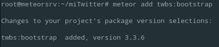 añadiendo bootstrap