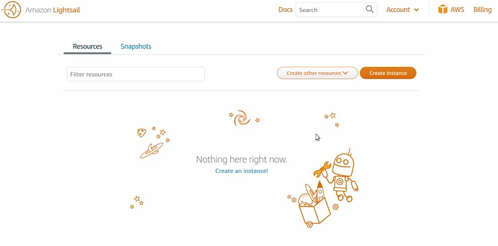 Imagen 0 en Lightseal, crear una instancia de WordPress
