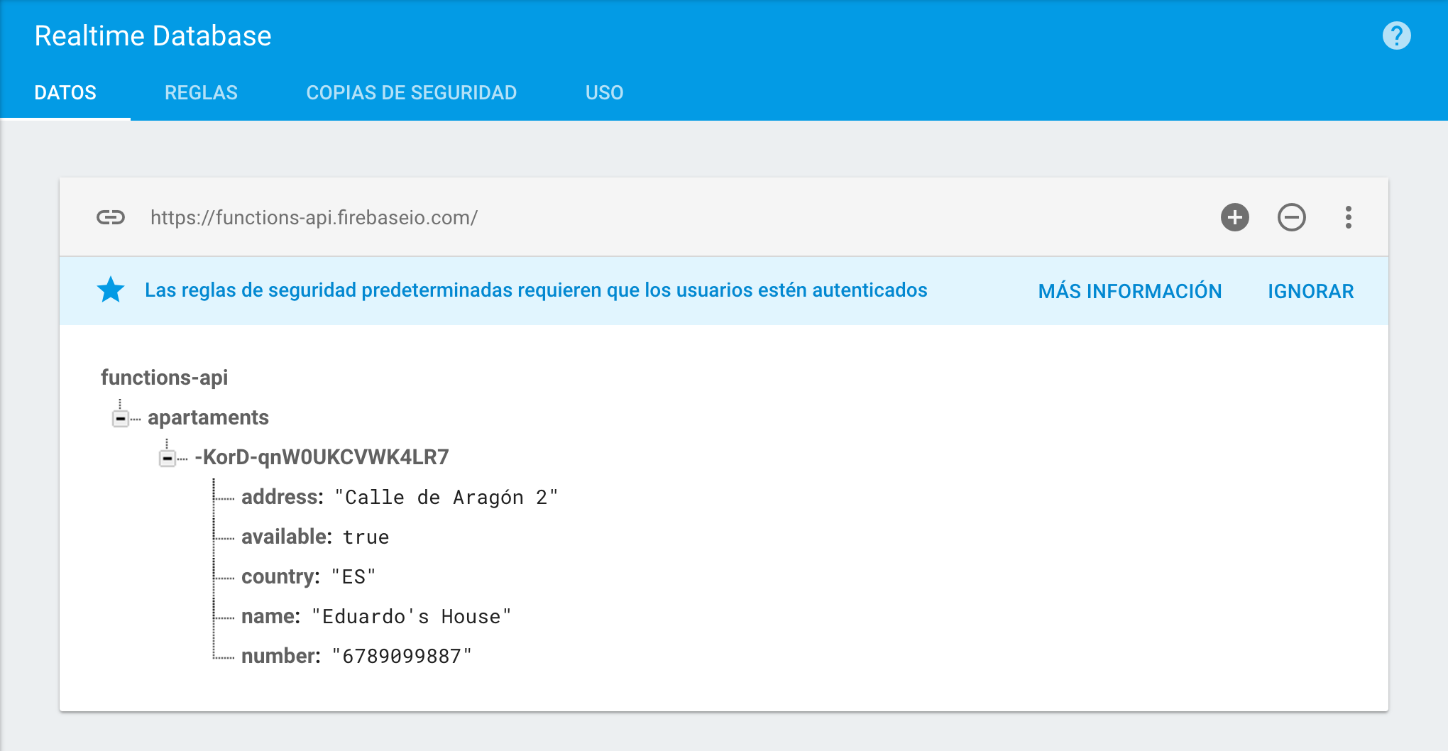 Imagen 0 en Construir API con Firebase Cloud functions