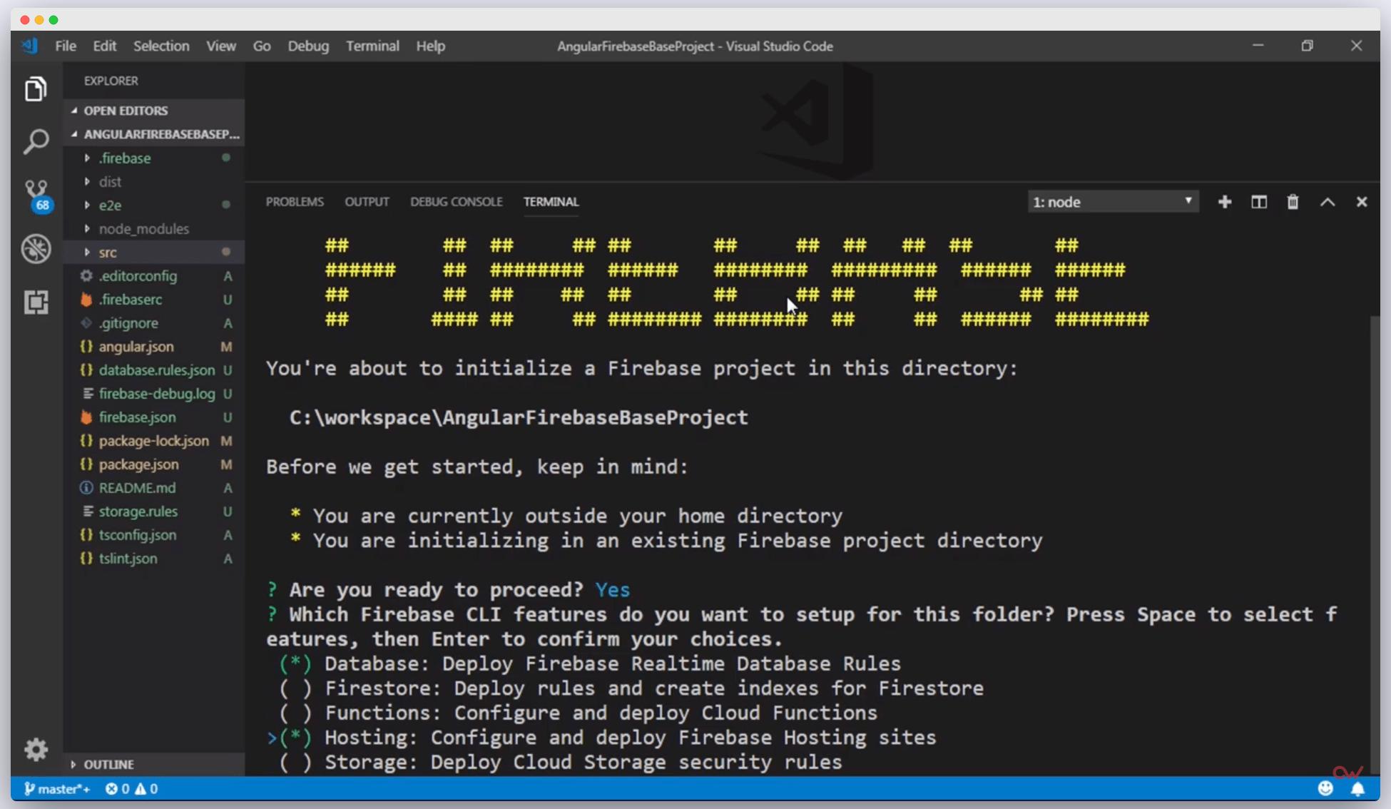 Imagen 1 en Cómo configurar un proyecto de Angular con Firebase