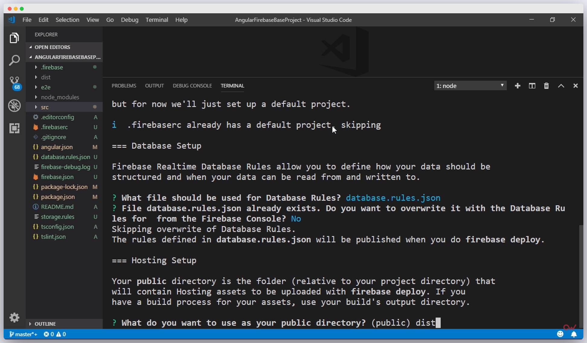 Imagen 3 en Cómo configurar un proyecto de Angular con Firebase