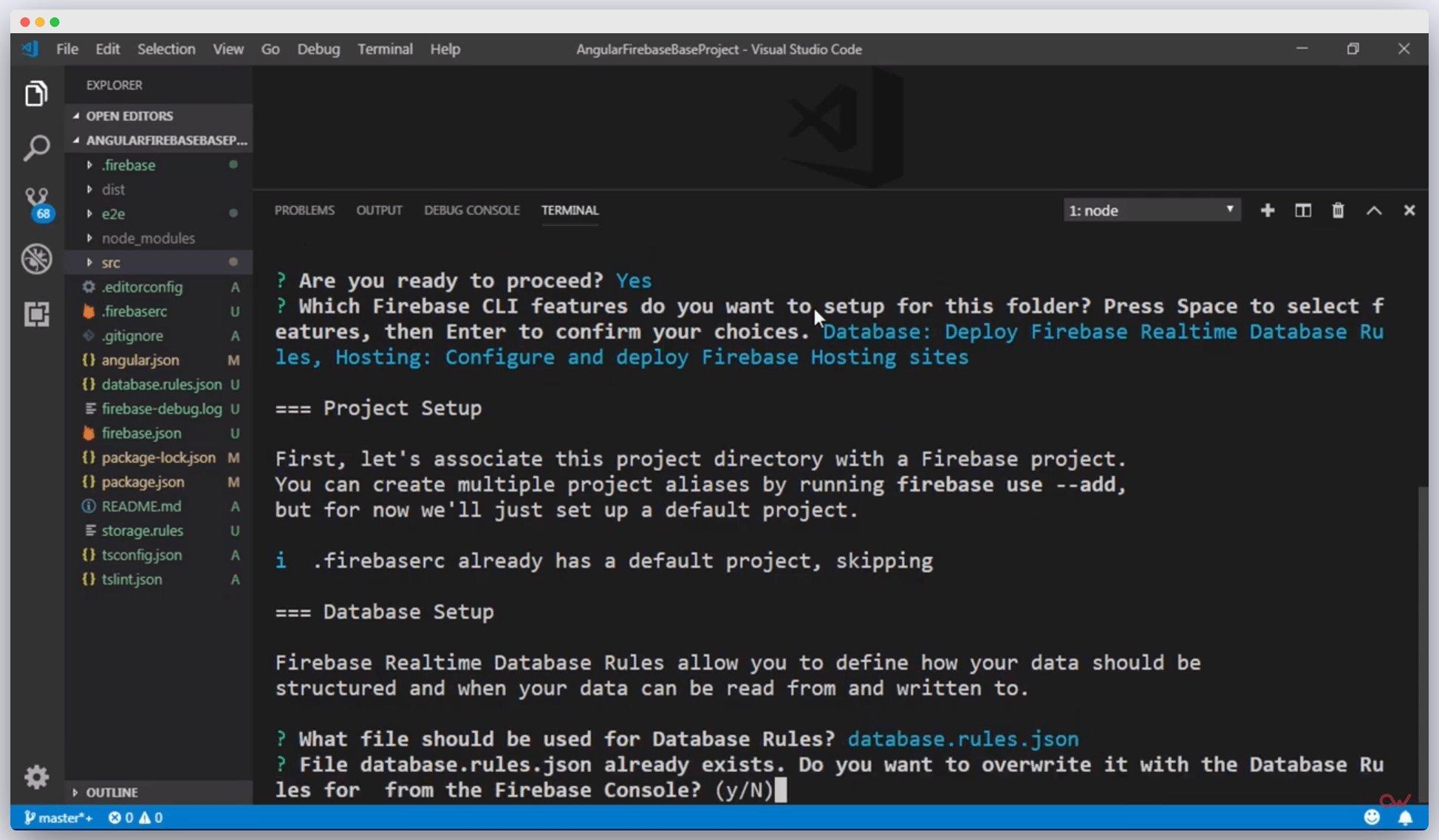 Imagen 2 en Cómo configurar un proyecto de Angular con Firebase