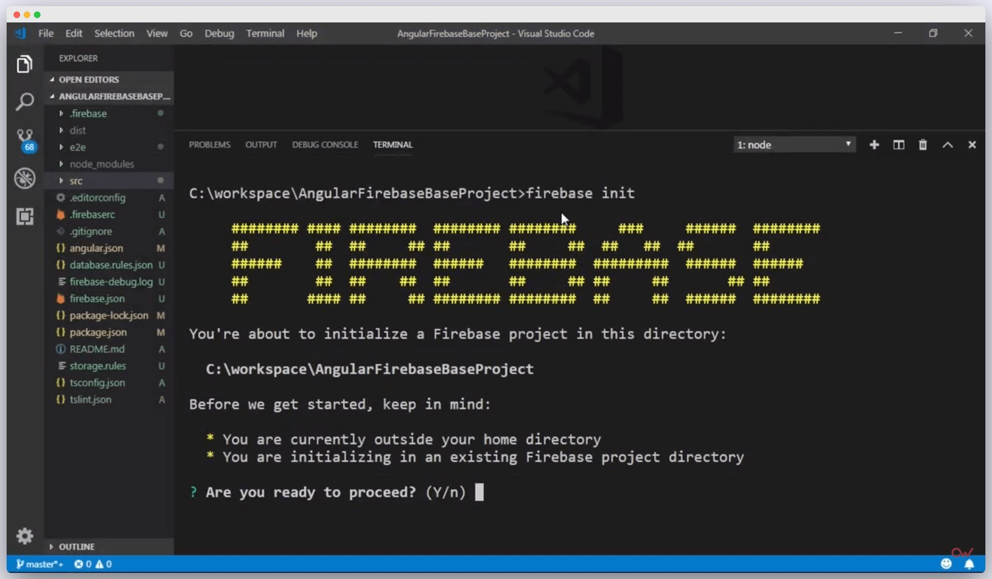 Imagen 0 en Cómo configurar un proyecto de Angular con Firebase