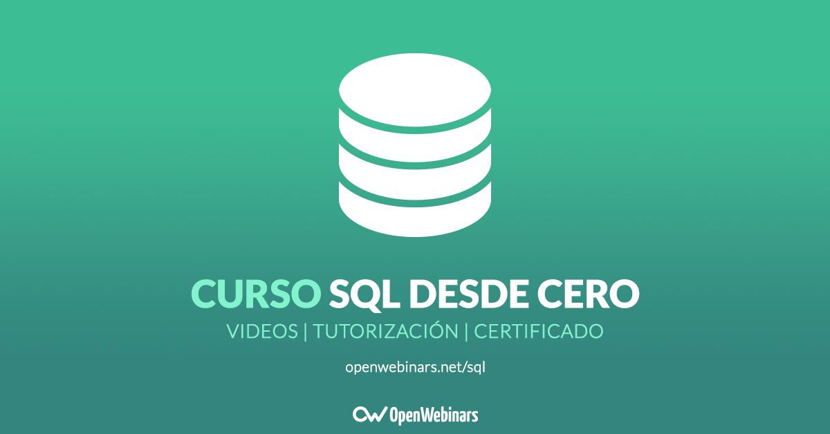 Curso SQL desde Cero