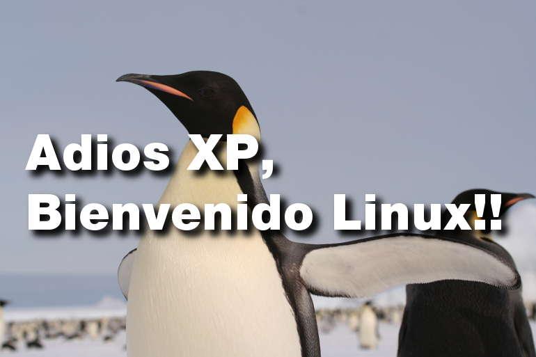 Adios XP, Bienvenido Linux!! (1/3)