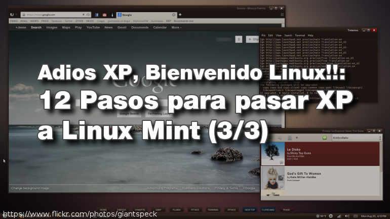 Adios XP, Bienvenido Linux!!: 12 Pasos para pasar XP a Linux Mint (3/3)