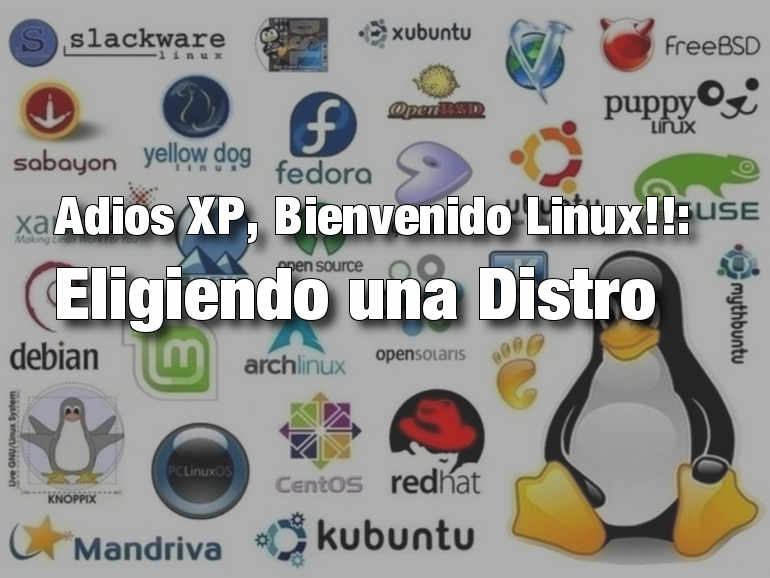 Adios XP, Bienvenido Linux!!: Eligiendo una Distro (2/3)