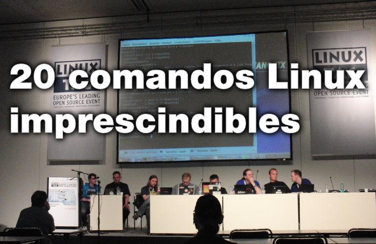 20 comandos linux que todo administrador de sistemas necesita saber